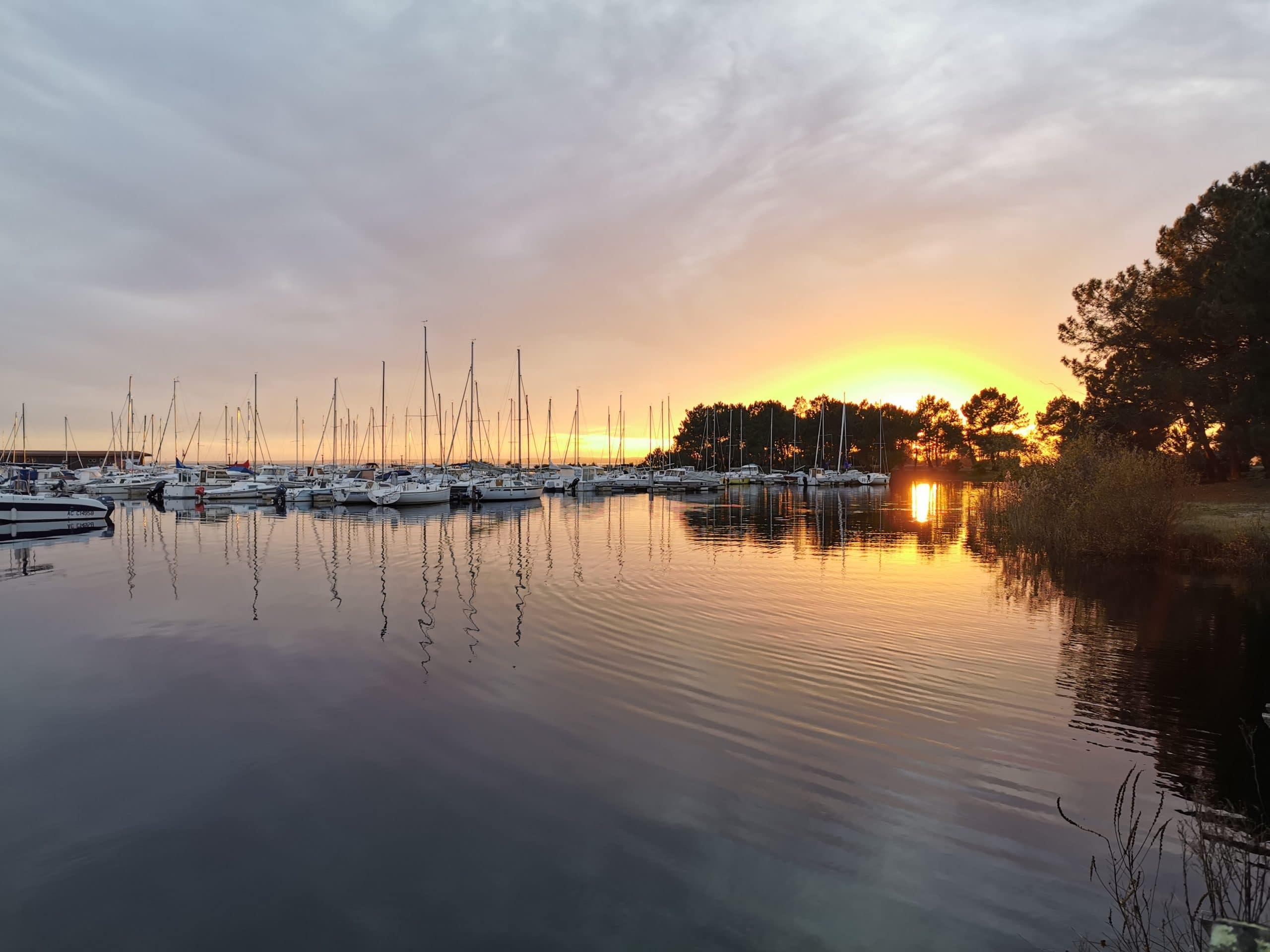 Parc Nature et Océan hourtin port