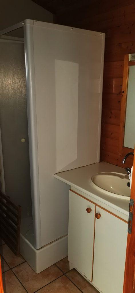 chalet calypso 14- salle d'eau